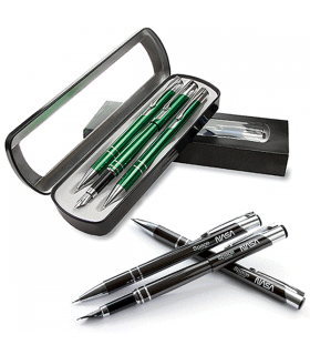 COSMO 3 elements set: Fountain Pen - Ballpen - Mechanical Pencil