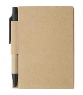 Caiet 80 pagini cu coperta din carton,pix inclus